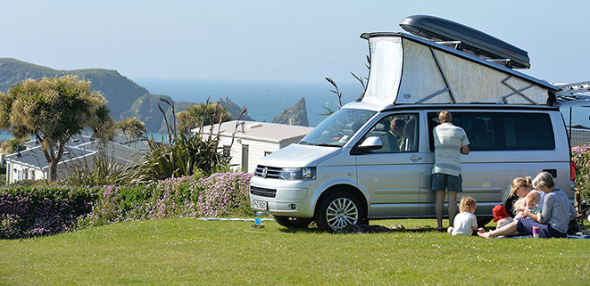 Motorhomes on Booby's