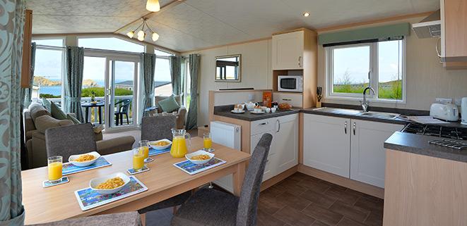 Popular Caravan To Rent On Yorkshire Finest 5 Star Park Caravan For Hire