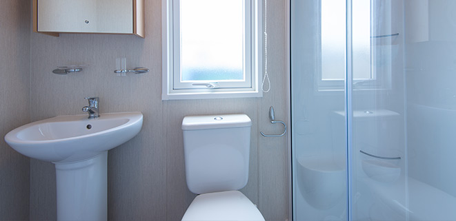 Diamond Caravan Bathroom