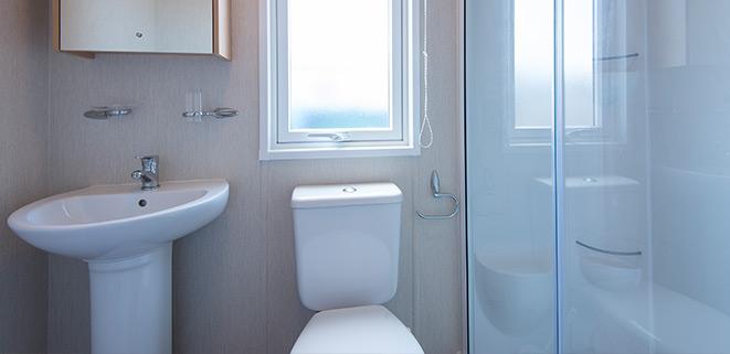 Diamond Caravan Bathroom