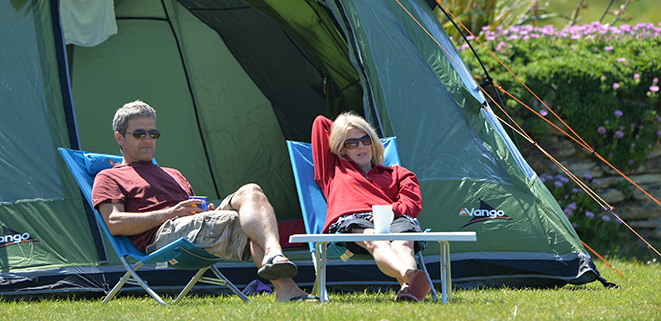 Relax camping at Mother Ivey\\\'s Bay