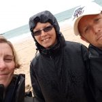 Picture of some Beachwatch participants at Mother Iveys Bay