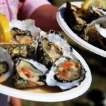 Image of oysters from the Rock oyster festival.