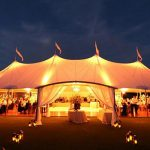 Image of marquee at the Padstow Seafood & Beer Festival
