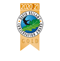 David Bellamy Award – Gold