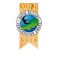 David Bellamy Award – Gold